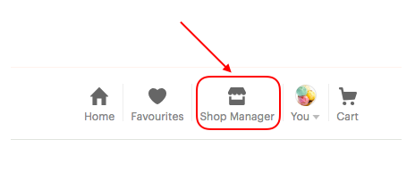 Etsy shop manager