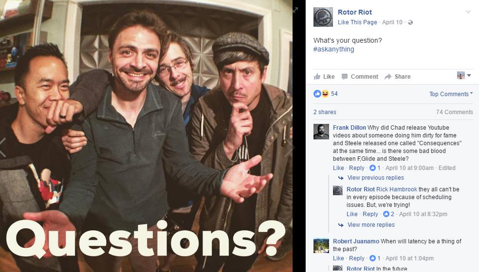 Content Ideas, Ask a Question