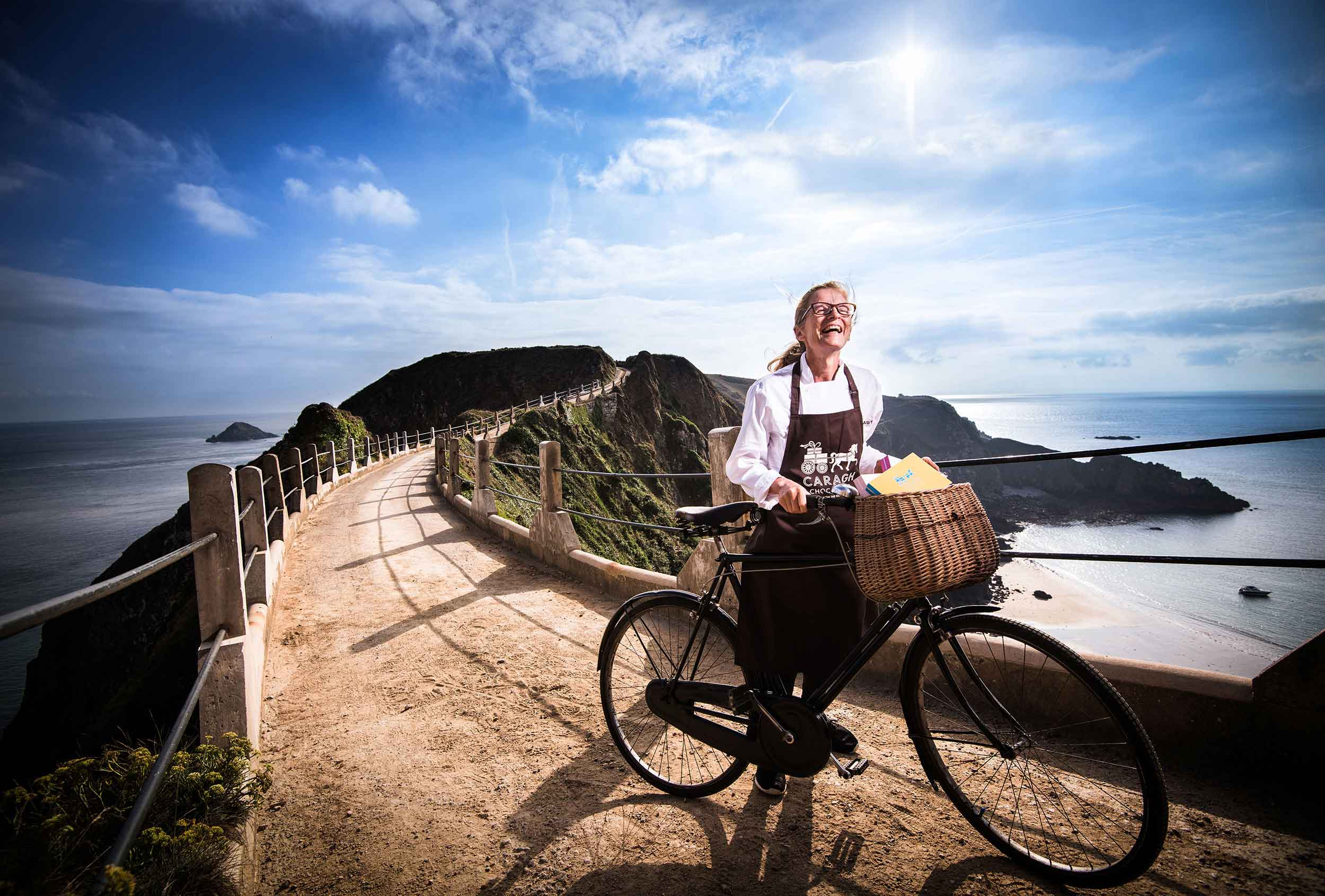 One of a series of images art directed by Distil Studio for Caragh Chocolates. Photography by Michael Feather.