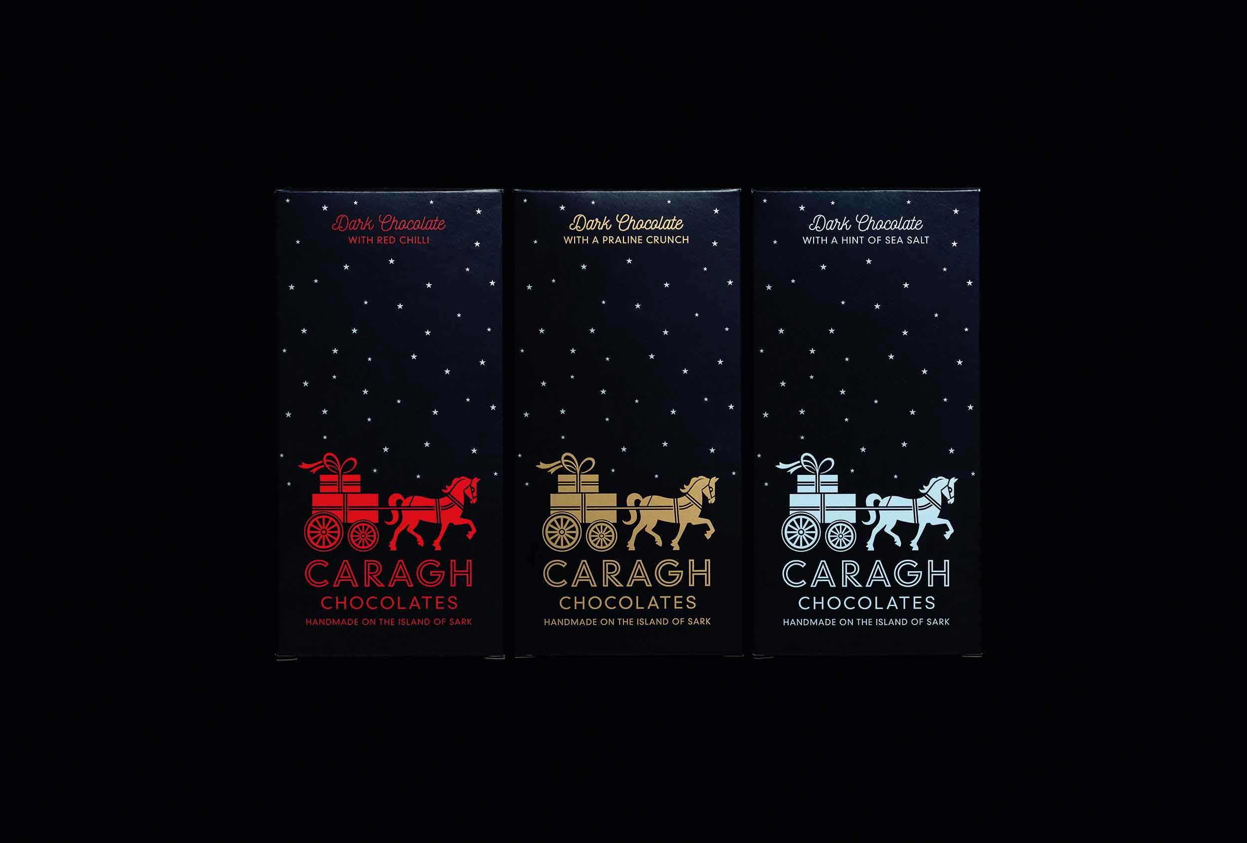 The 'Dark Skies' range designed by Distil Studio.