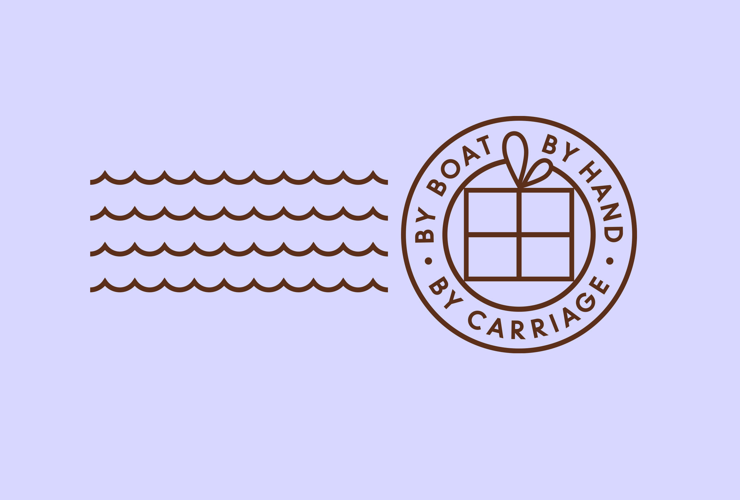Part of the branding for Caragh Chocolates.