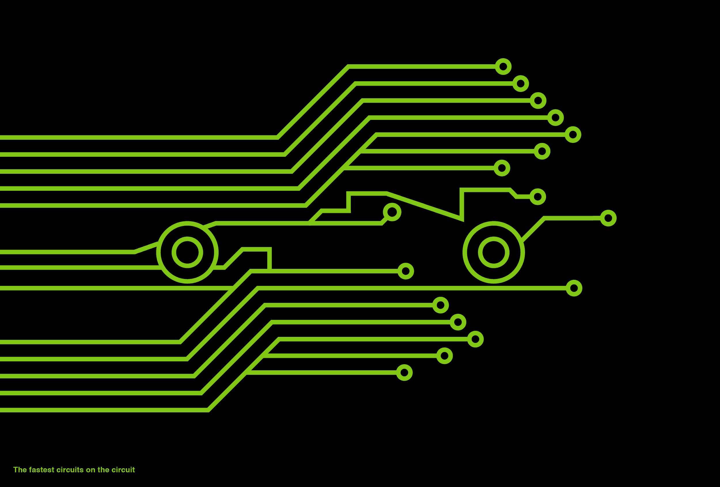 The fastest circuits on the circuit - expressing the electronics within Mercedes power units.