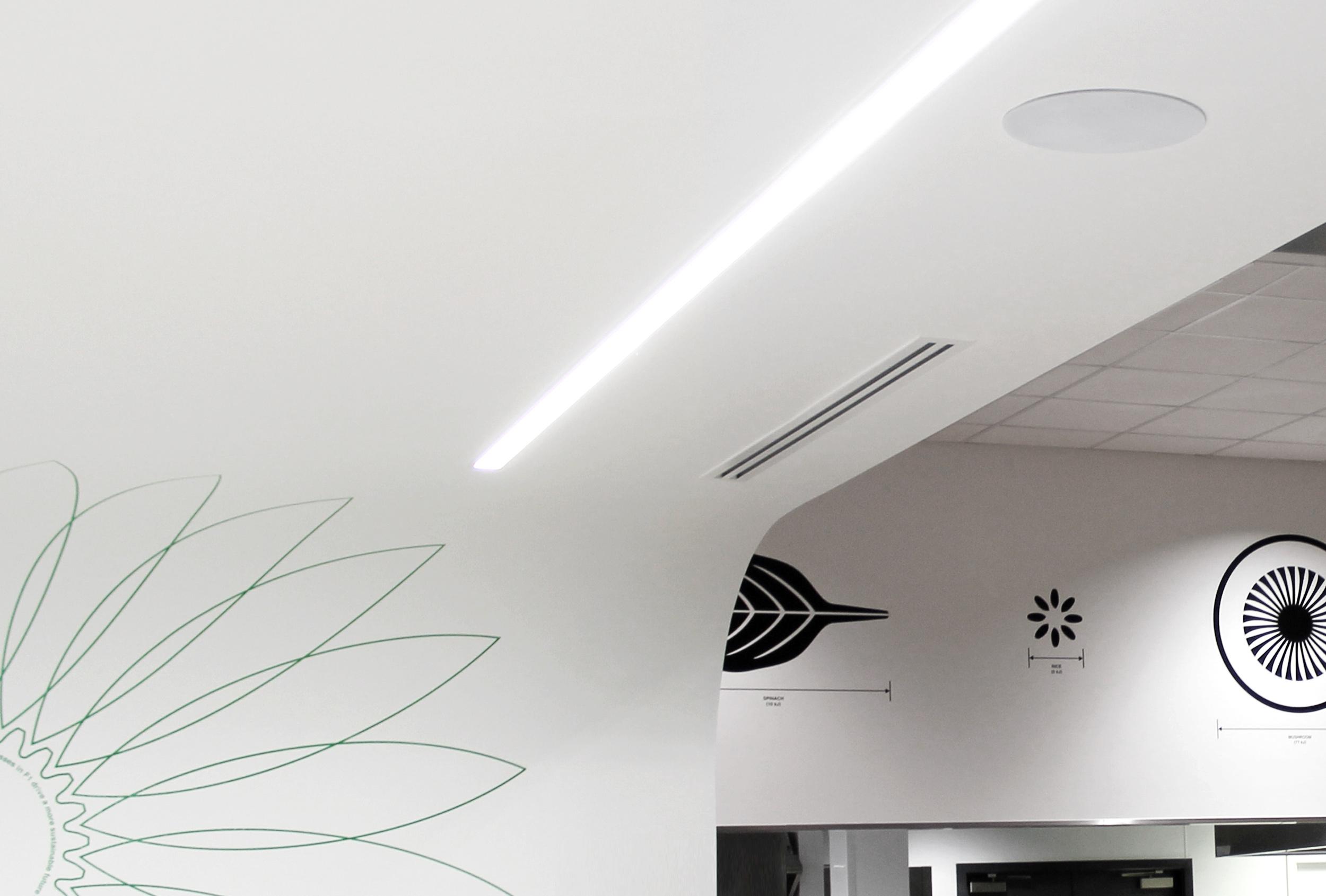 Design detail - environment graphics for Mercedes