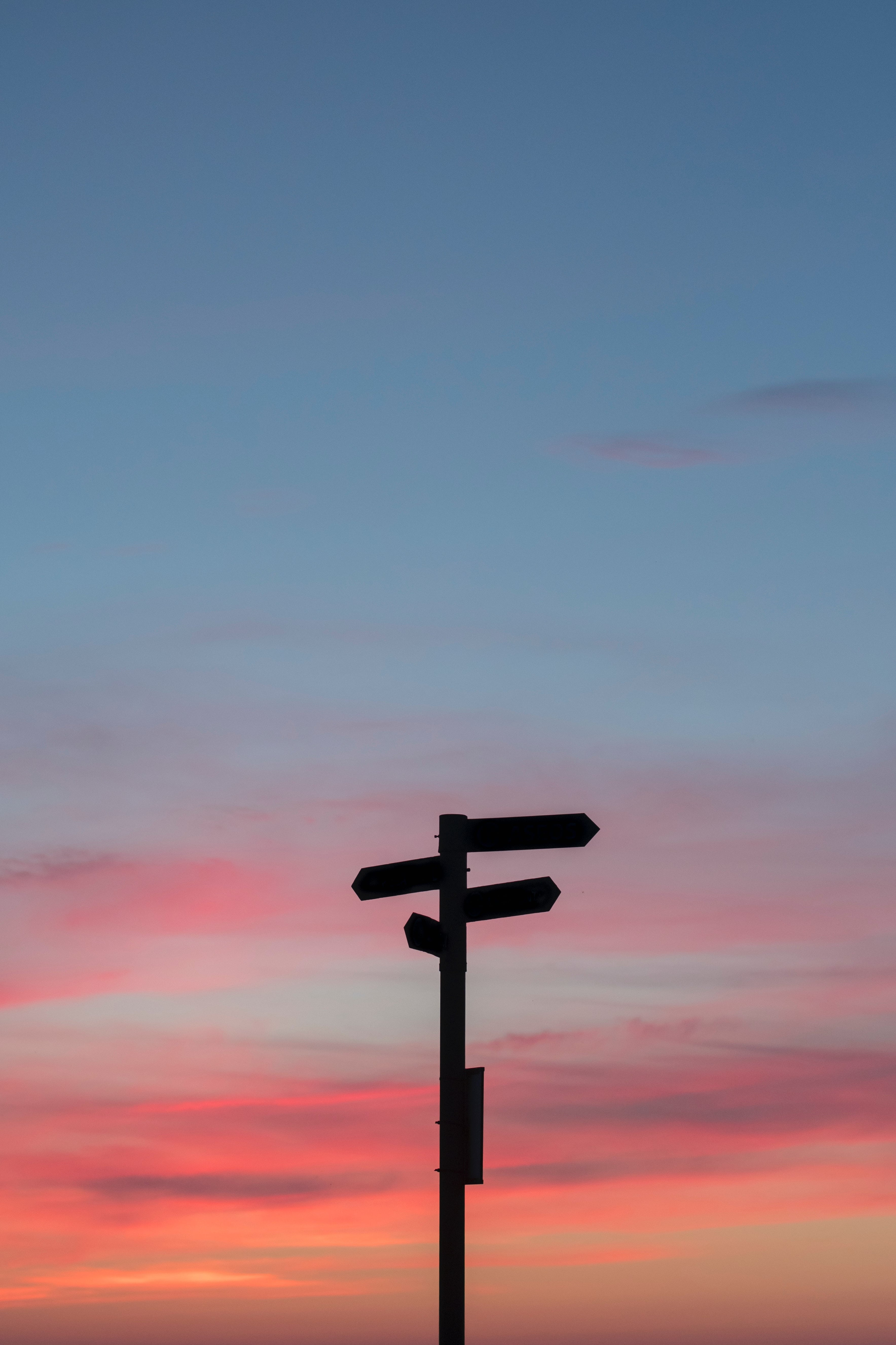 Silhouette of road signs. Partnerships with The Mix Stowmarket