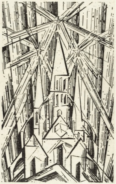 Lyonel Feininger, Kathedrale, 1919