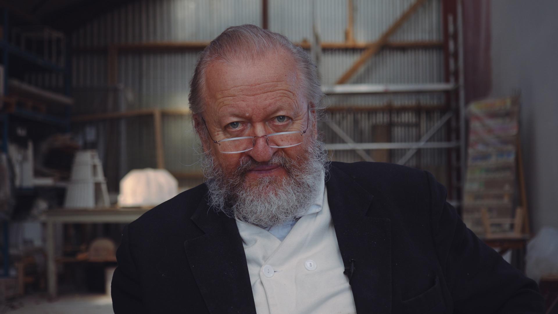 Film og samtale med Bjørn Nørgaard