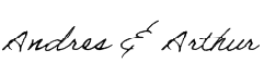 Andres and Arthur signatures