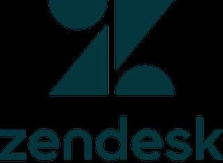 Logo of Zendesk