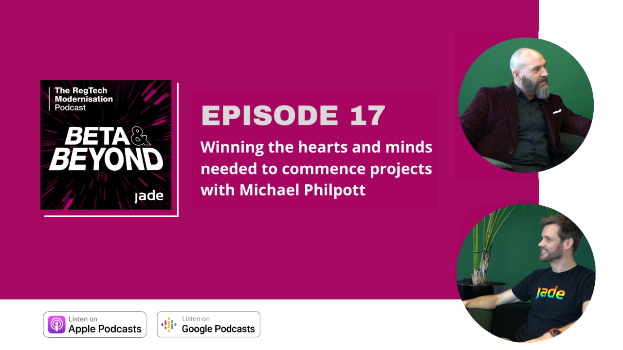 Beta & Beyond Podcast: Ep. 17 Winning the hearts and minds needed to commence projects with Michael Philpott