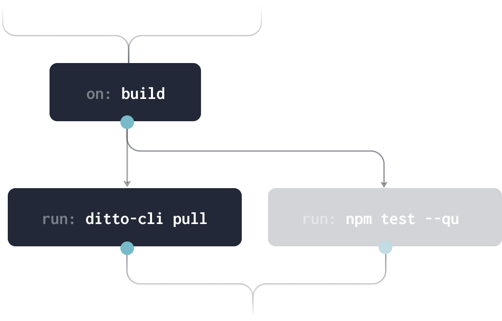 Automated workflow with Ditto CLI