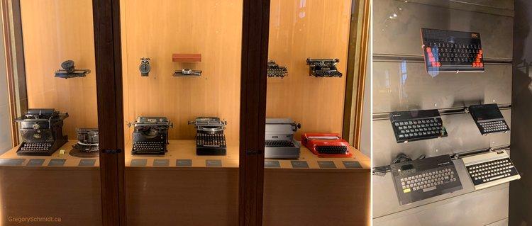 Evolution of type. Taken: Musée des Arts et Métiers, Paris, 2019