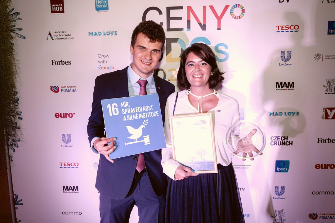 SDGs Award for the Civilsphere project