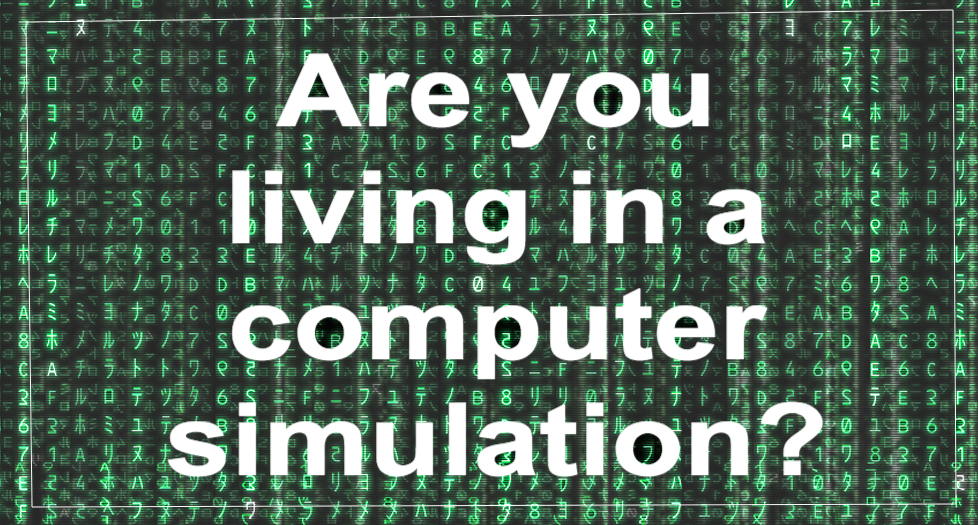 Are you living in a computer simulation?
