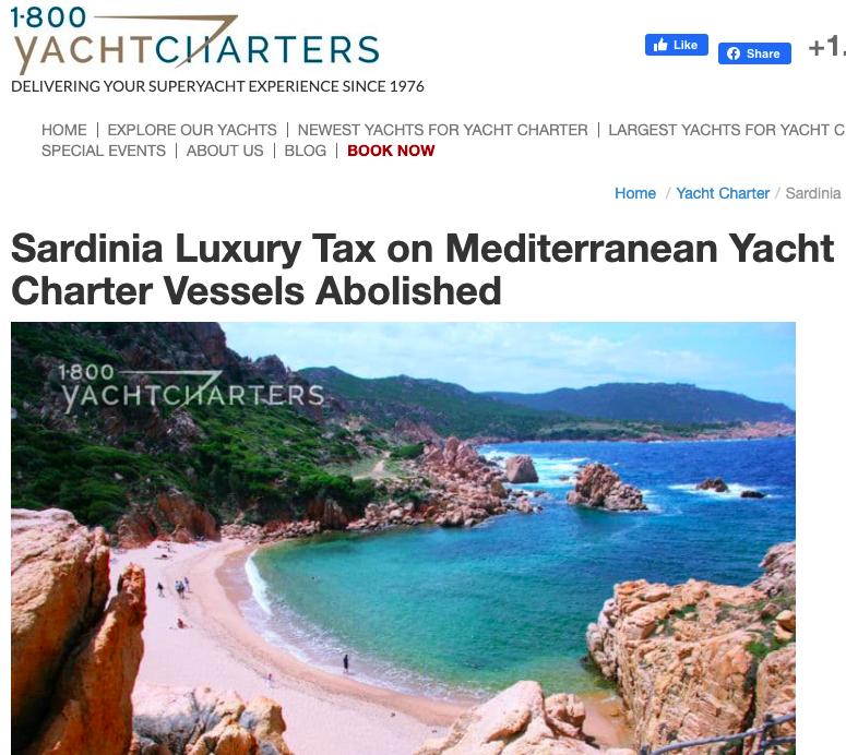 yacht charter blogs