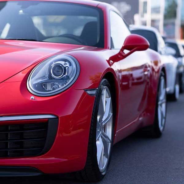 Porsche önskade lite bilder till sociala medier