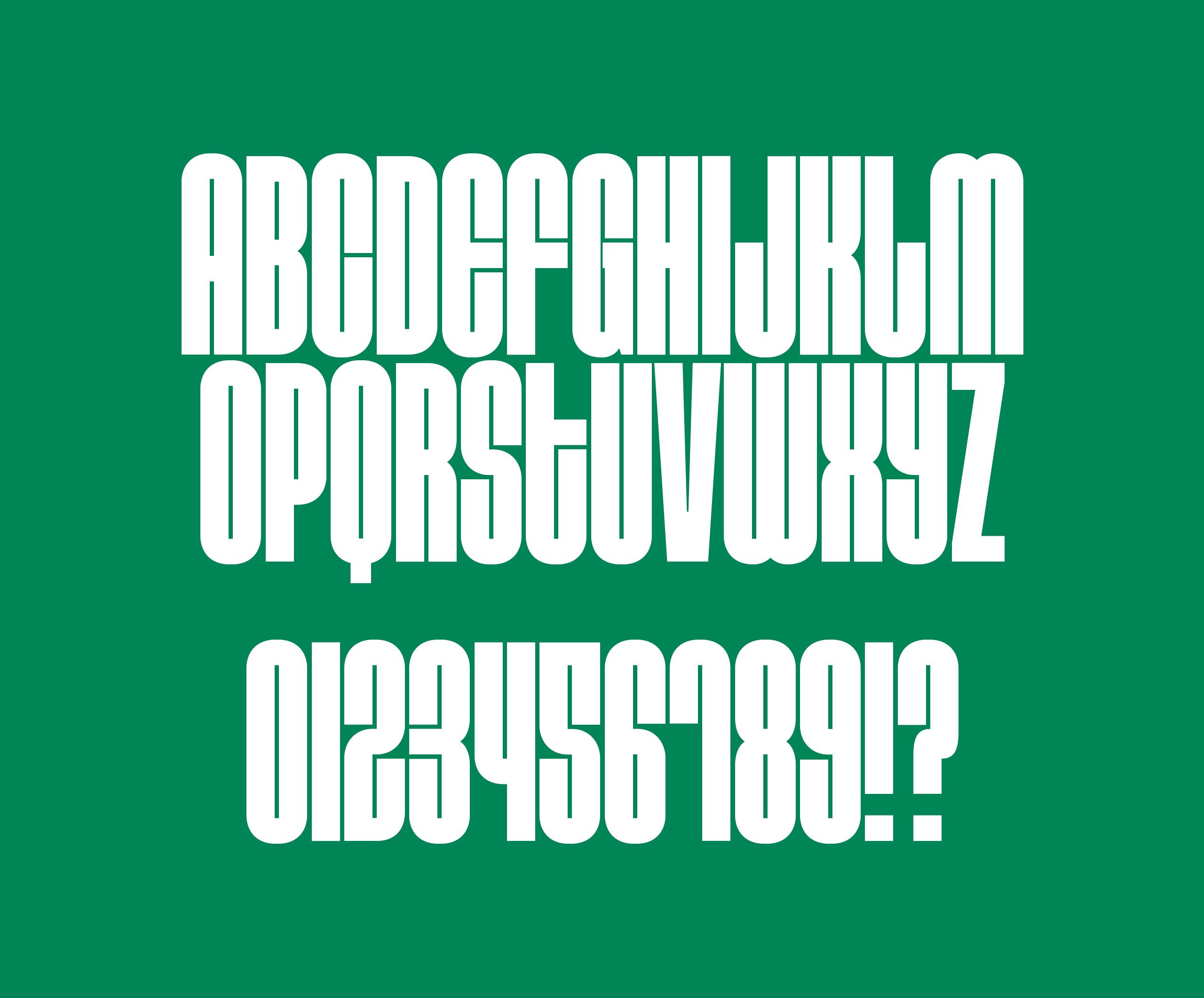 Do-fest custom typeface