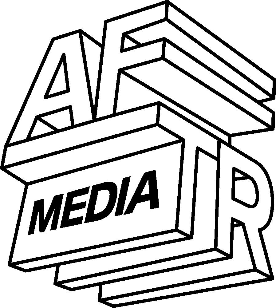 Aftr Media Outline Logo