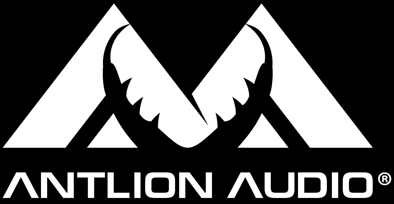 Antlion Audio logo in white color