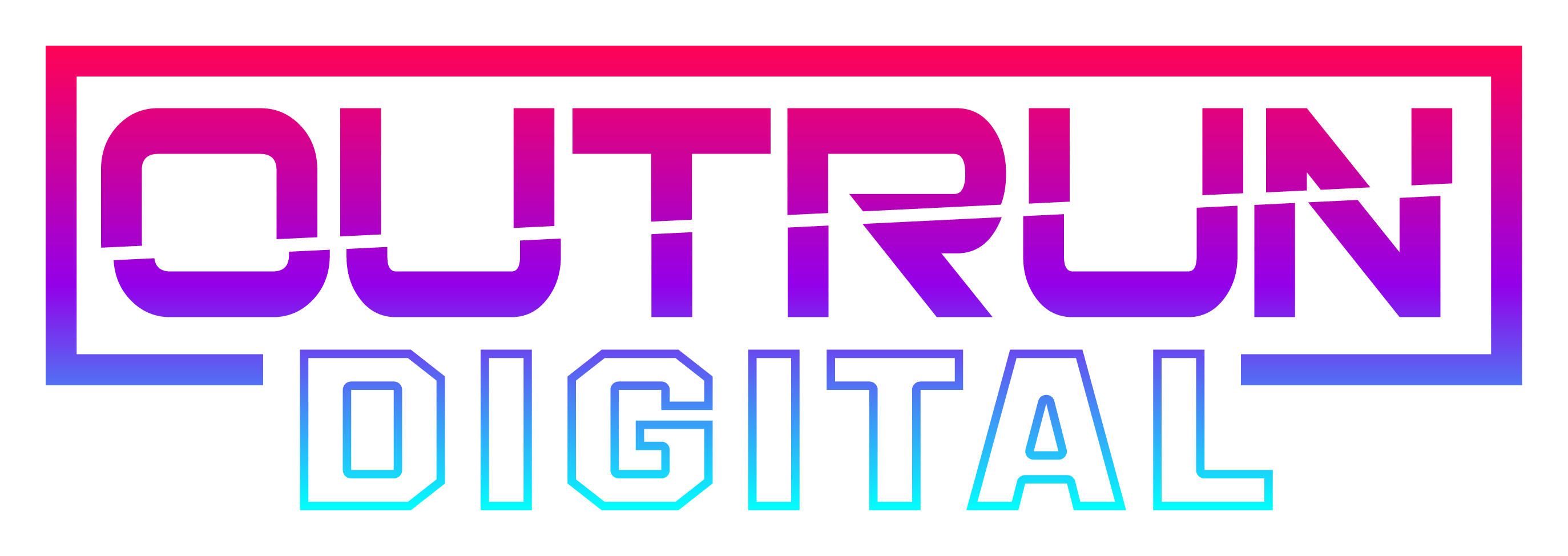 the logo of Outrun Digital, the media and content creation company behind High School Heroes Esports League