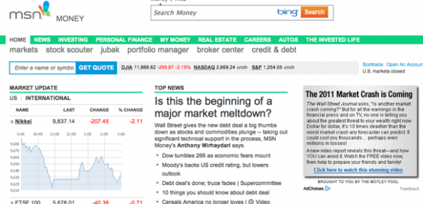 Msn Stock Quotes Awesome 19 Top Places To Get Real Time Stock Quotes And Market News