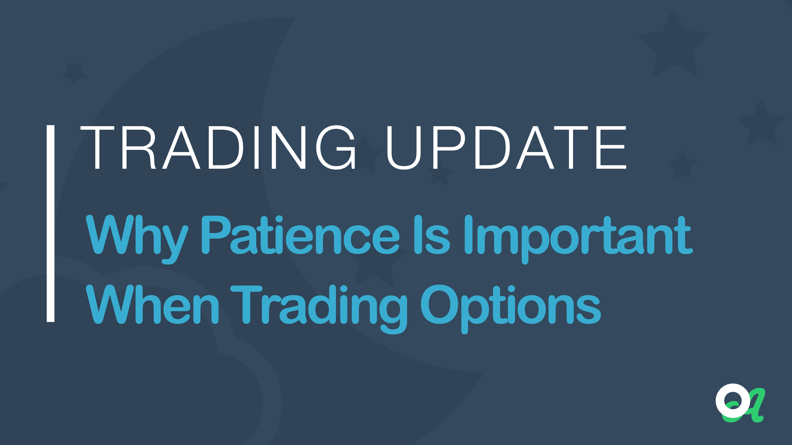 Why trade options