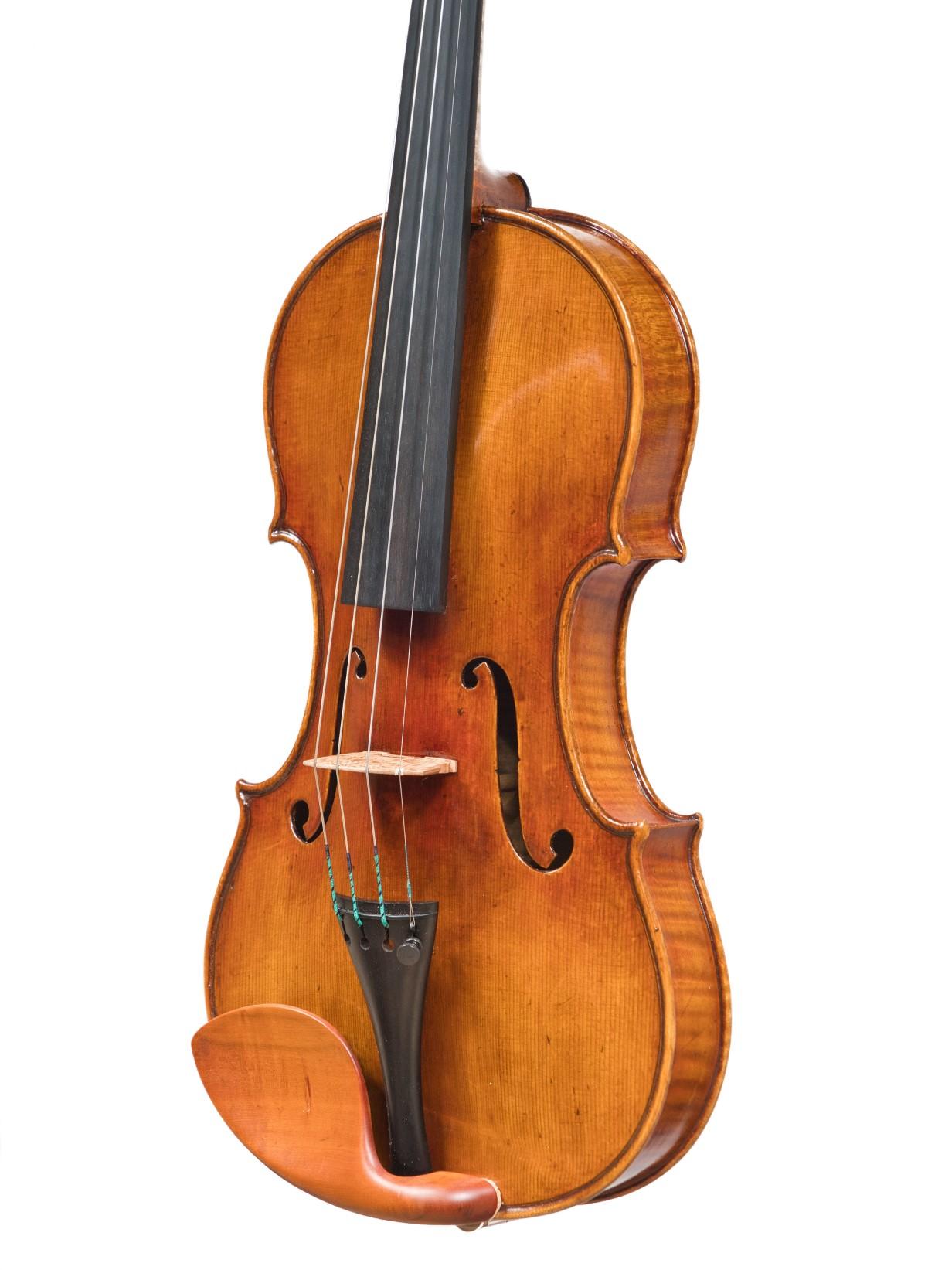 antiqued violin