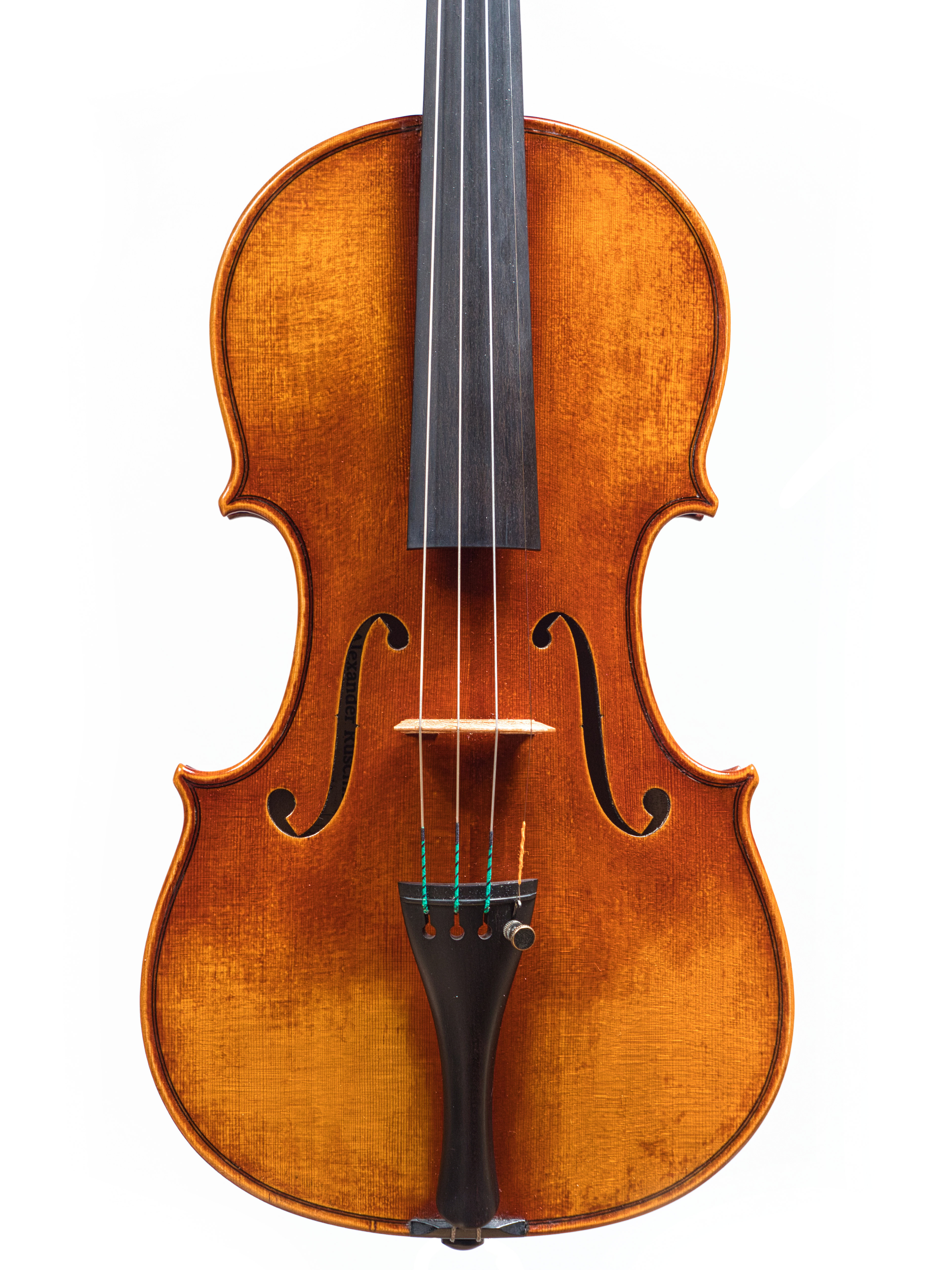 "Violin by Antoni Ruschil, 2020 ""The Kasztelańska"""