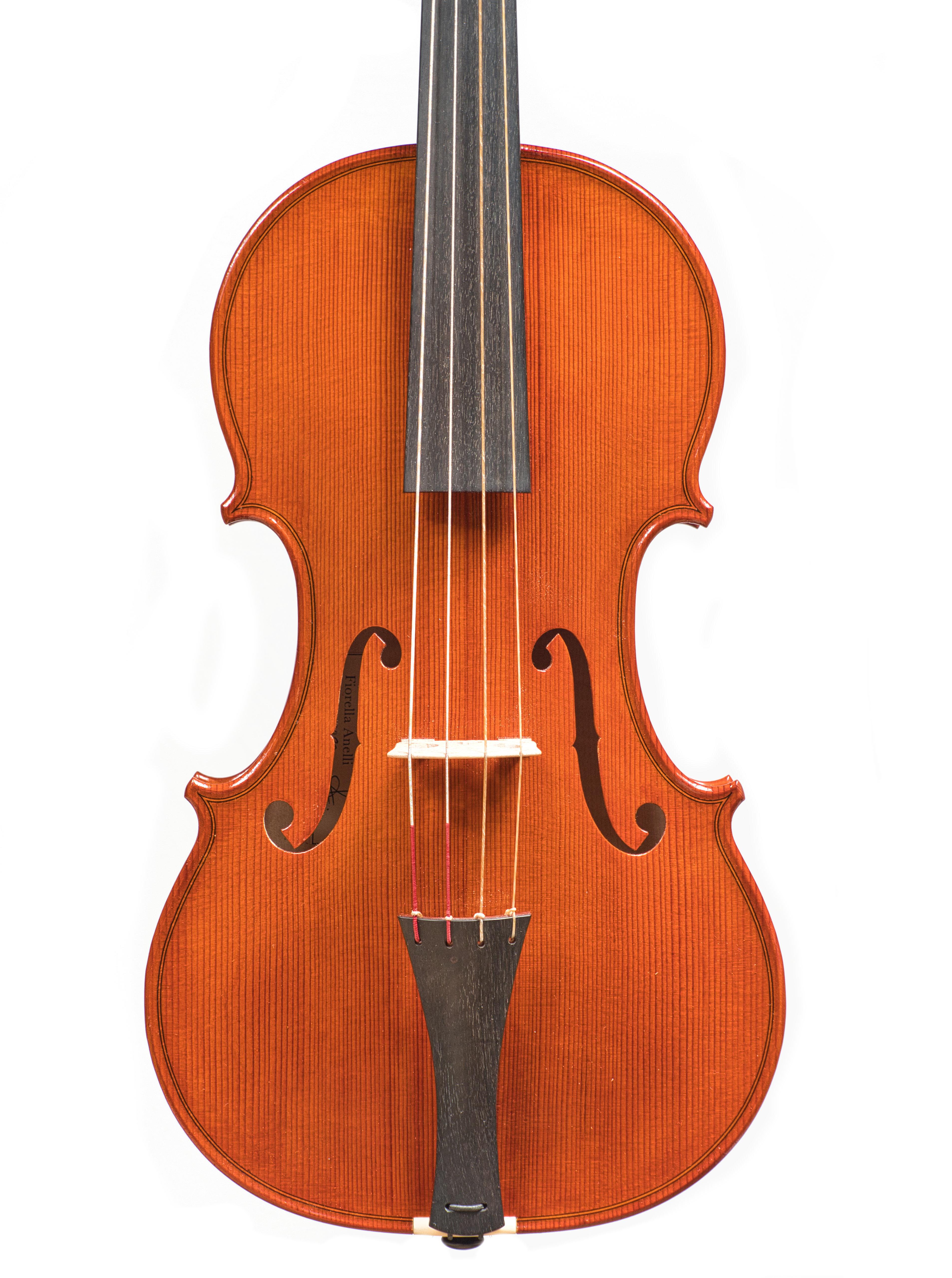 Baroque Violin by Fiorella Anelli, 2020
