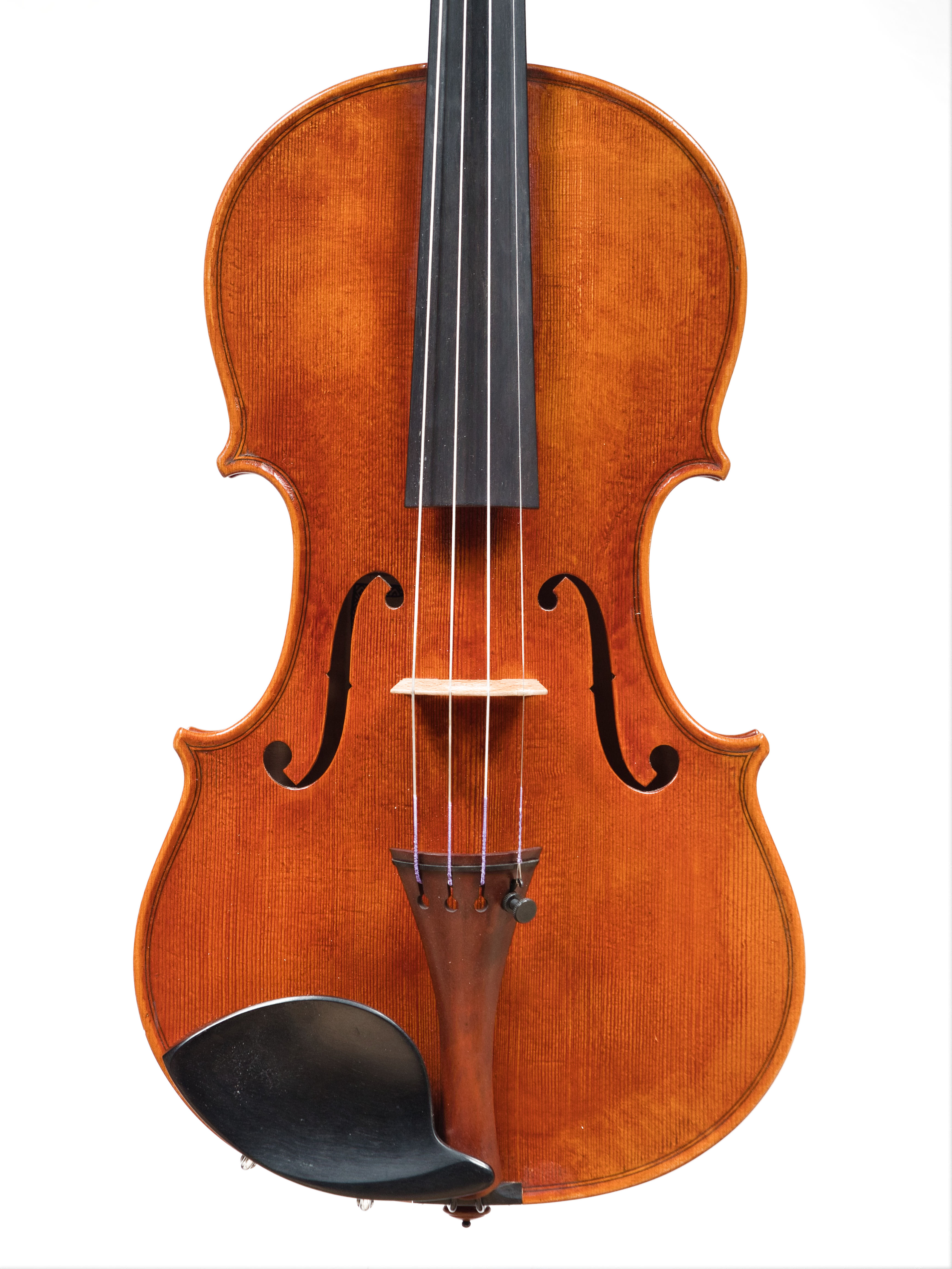 "Violin by Edgar Russ, 2015 ""Edith Steinbauer"" Stradivarius"