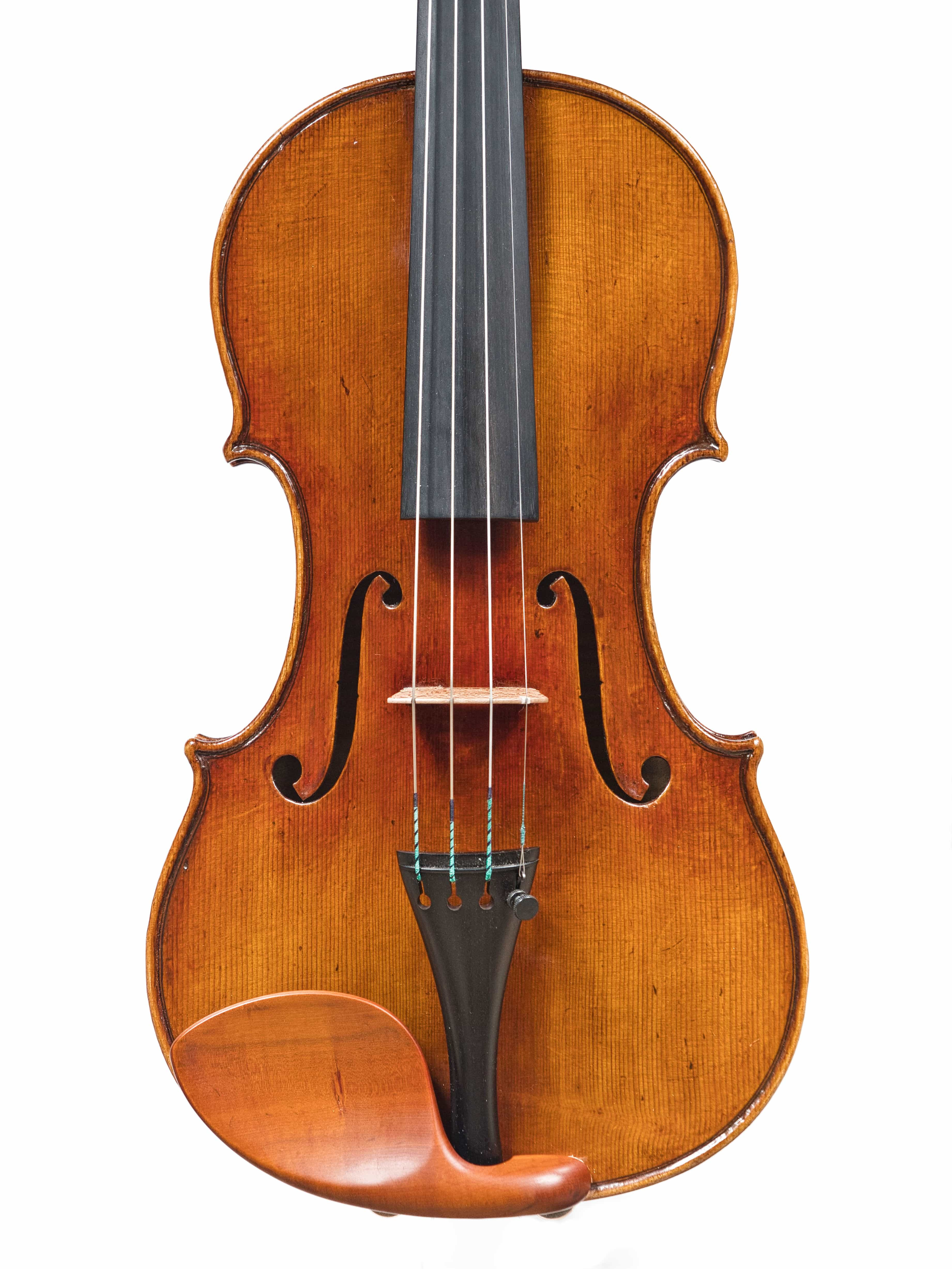 "Violin by Roger Hansell, after the Guarneri ""Ysaye"", 2020"