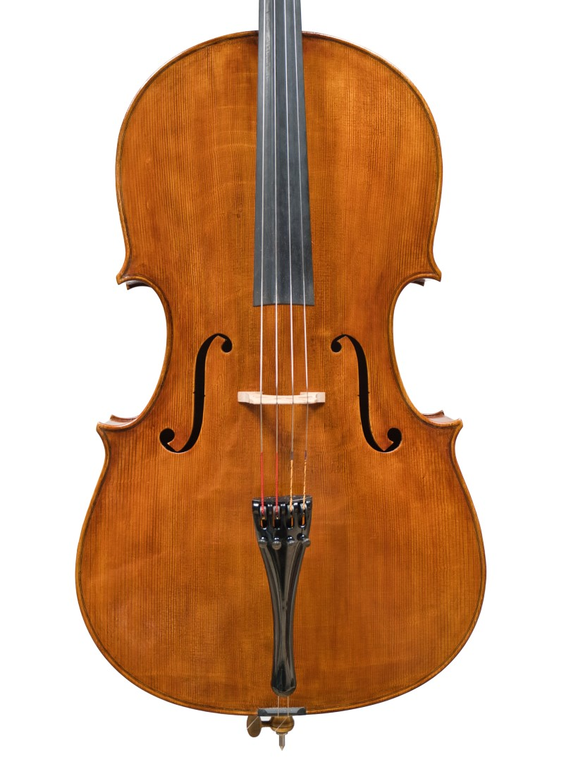 """Cello by Paolo Vettori, 2021 """"Sleeping Beauty"""" Montagnana"""