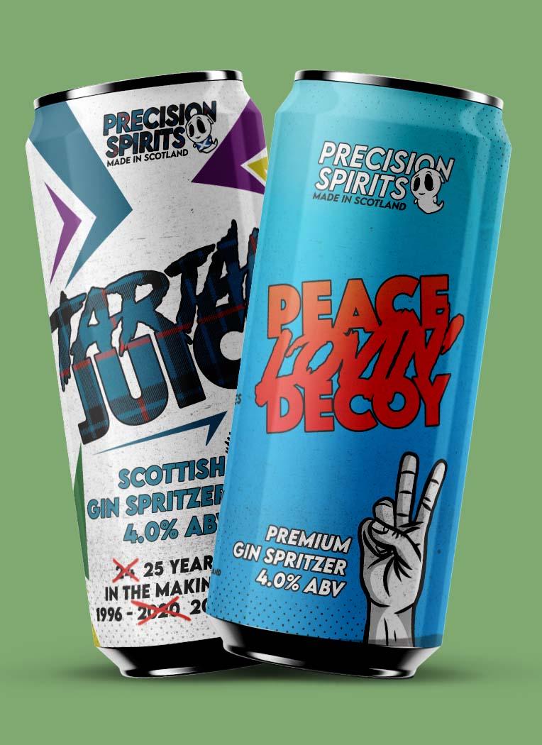 Mix of Peace Loving' Decoy & Tartan Juice