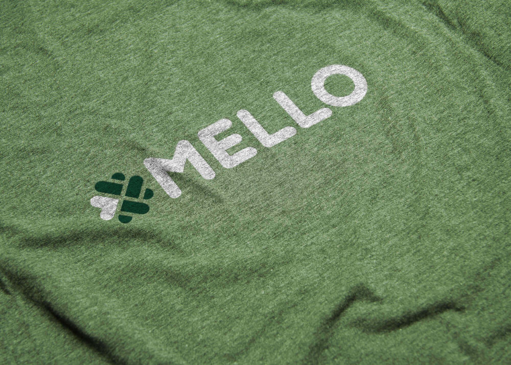 Mello Logo Tshirt Mockup