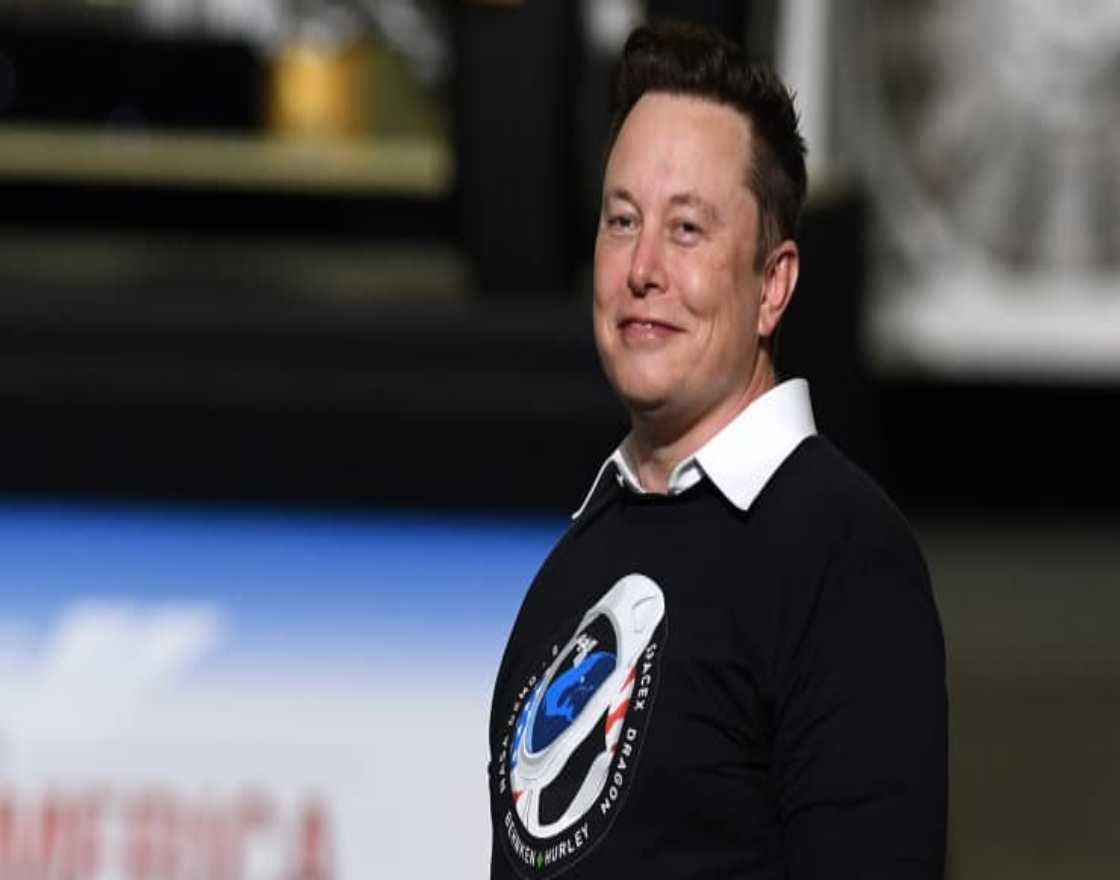SpaceX and Tesla founder Elon Musk at the Kennedy Space Center