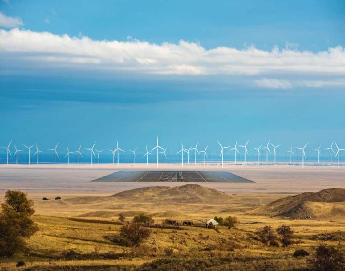 German company Svevind is planning a monster 45-gigawatt renewable energy scheme in Kazakhstan