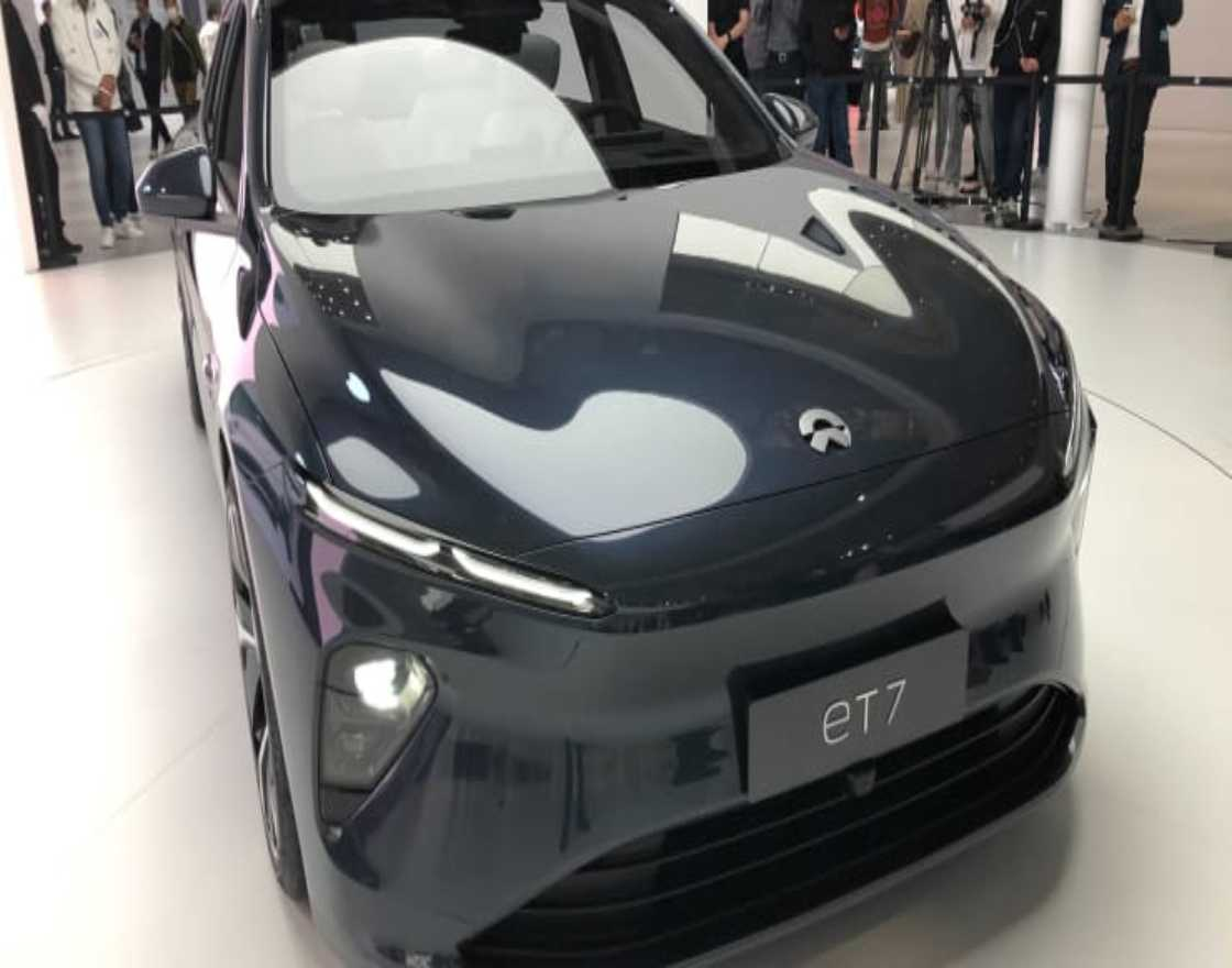 Nio plans to begin deliveries of its ET7 electric sedan in 2022.