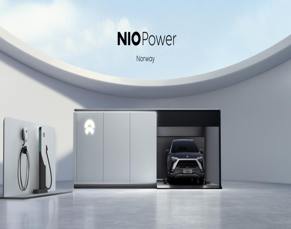 Renderings of NIO charging technologies coming to Norway