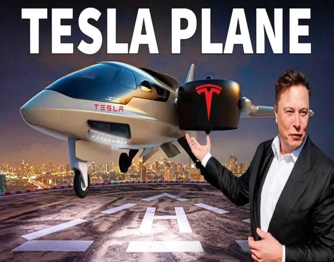 Tesla Electric Plane