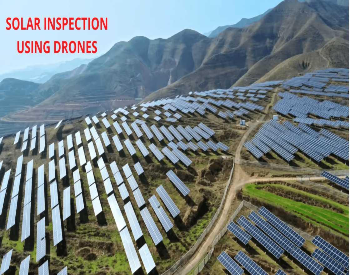 solar inspection using drones