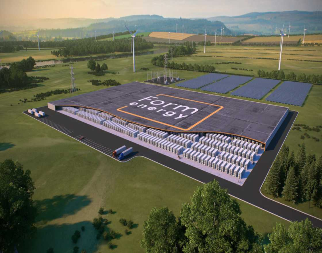 Form Energy Battery System Rendering