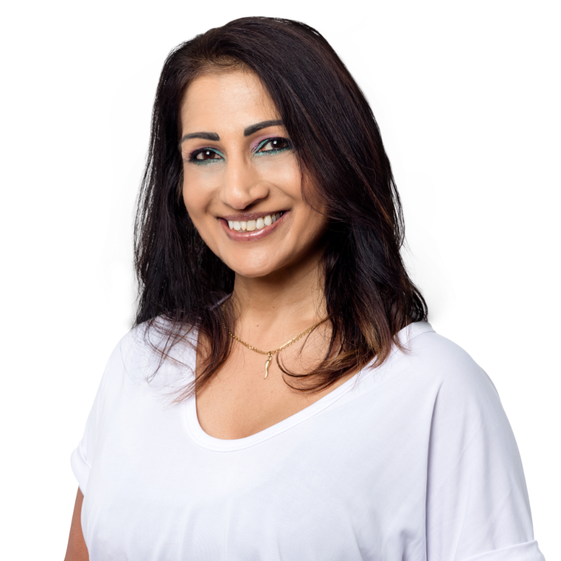 Leading the team in both admin and fitness, Saroj is always two stiletto steps ahead of the pack. A self-proclaimed lover of learning, Saroj sets the bar high and smashes it everytime. When she's not coordinating the team and chatting to clients, you'll find her in two places; relaxing in the sun, or smashing a 5am gym session – it's all about balance! With a background in admin, as well as previously owning her own business, Saroj knows her shit!
