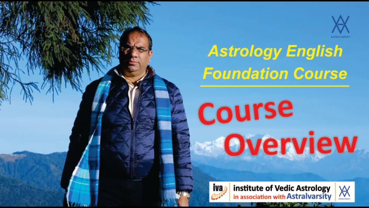 vedic astrology course overview