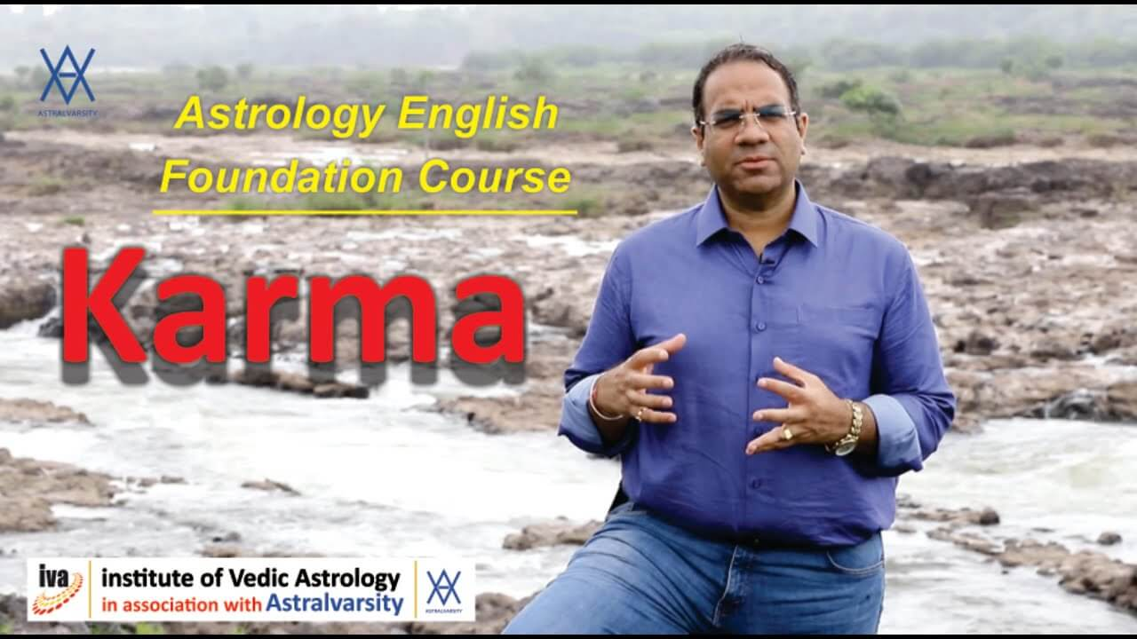 vedic astrology courses - karma