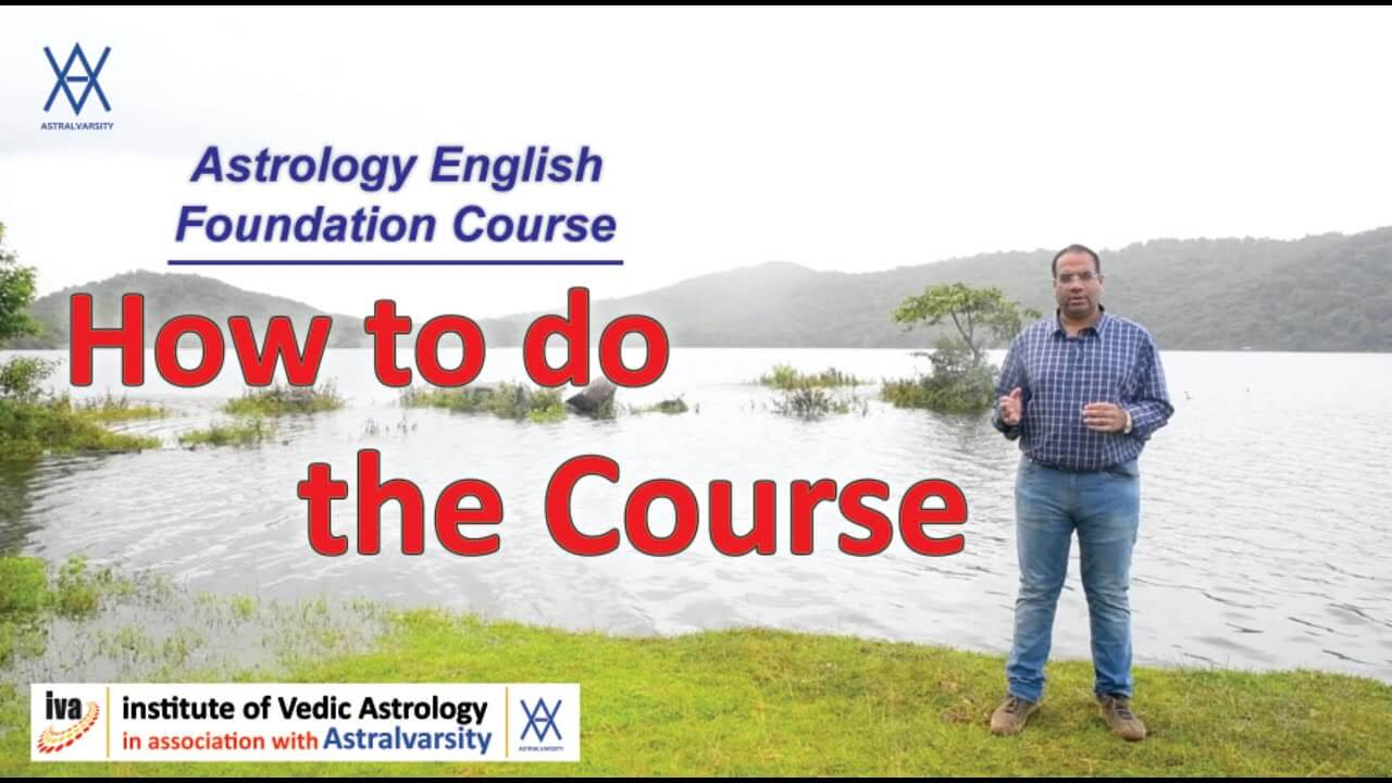vedic astrology courses - how to do the course