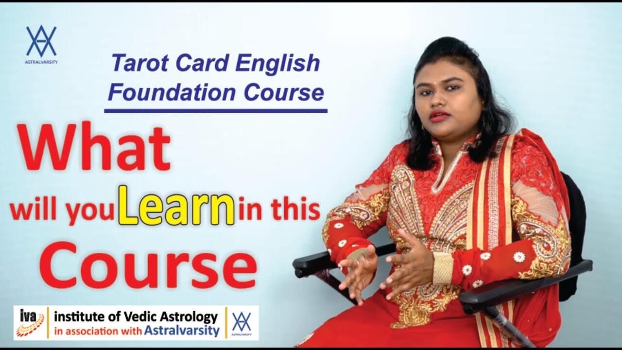 Tarot card reading classes - what will you learn in this course