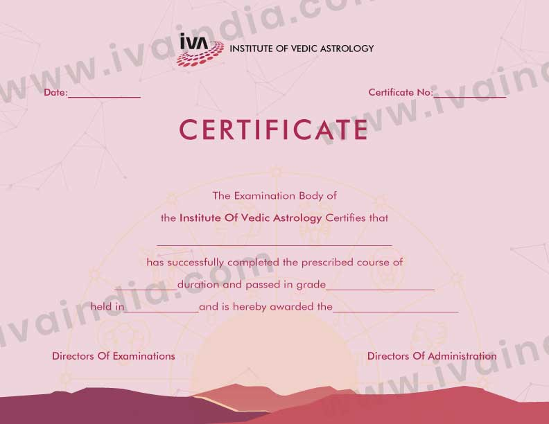 Advance Integrated Professional Diploma Course Certificate