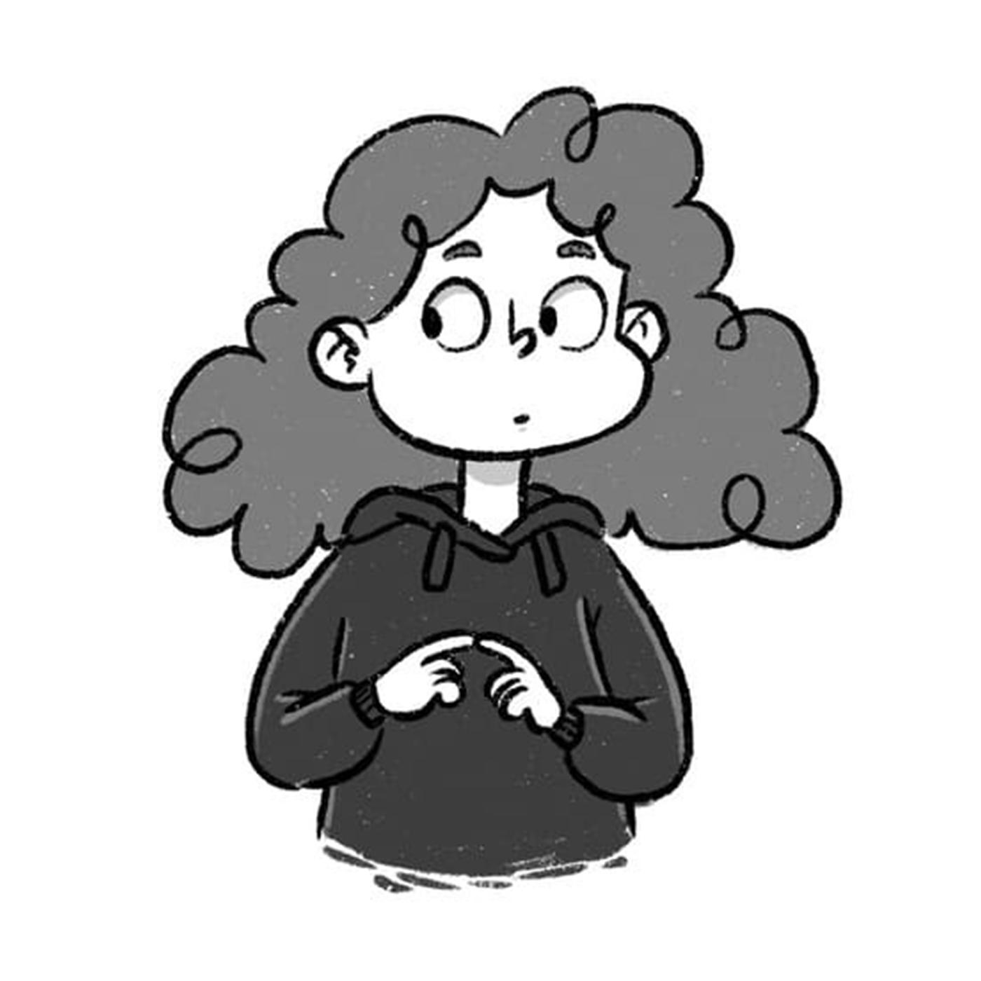 lea schumm drawn by herself as herself