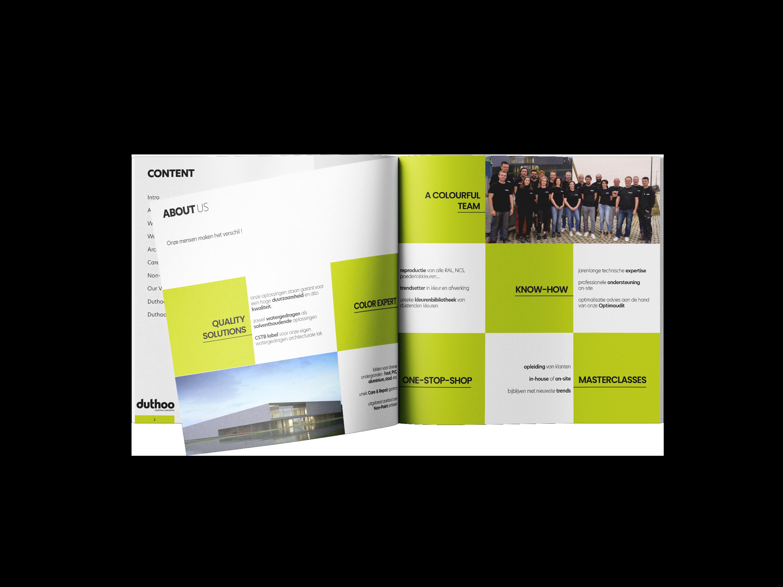 Corporate brochure Duthoo