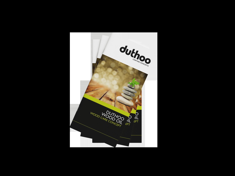 Wood oil brochure Duthoo