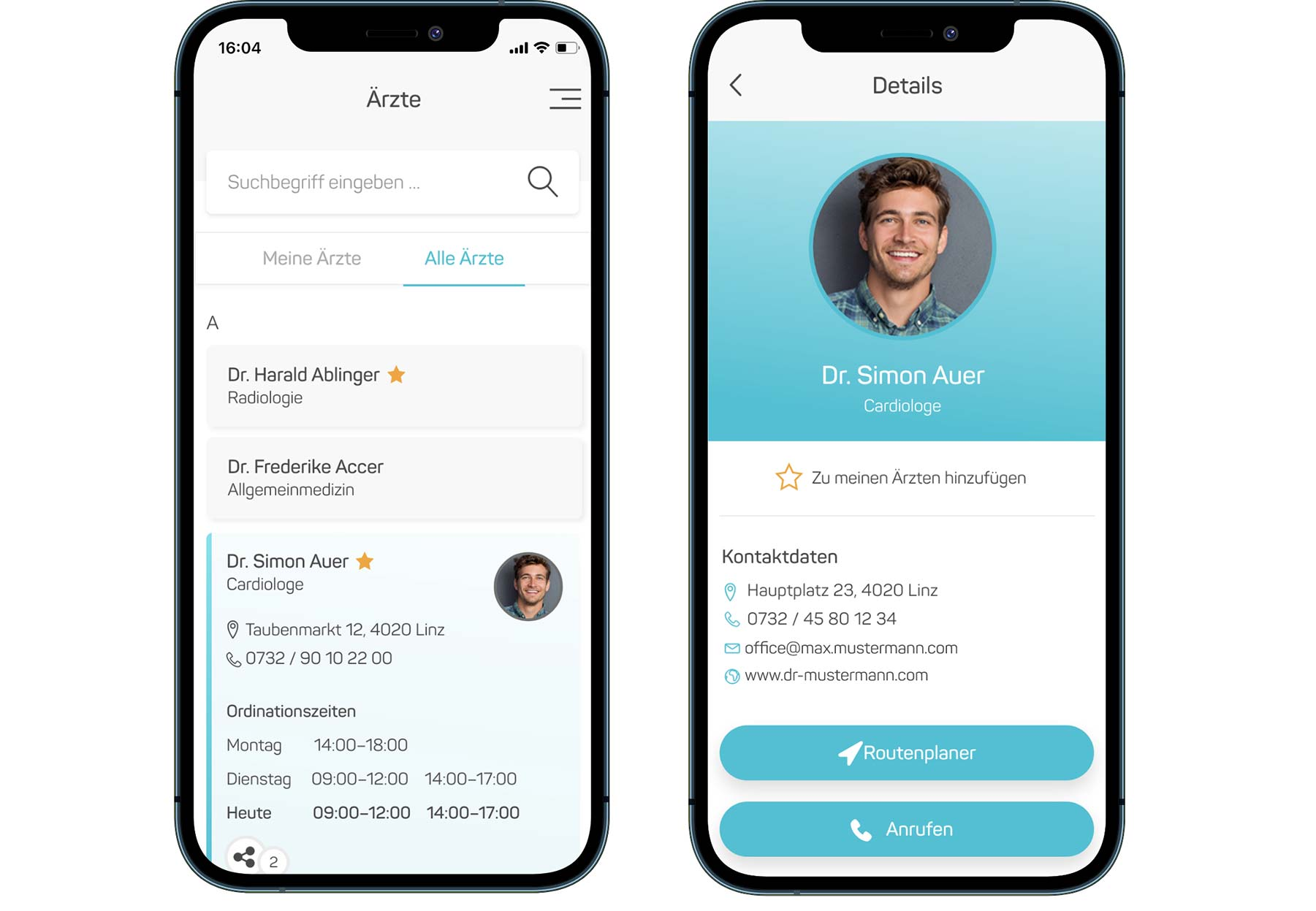 Gesundheitsakte App
